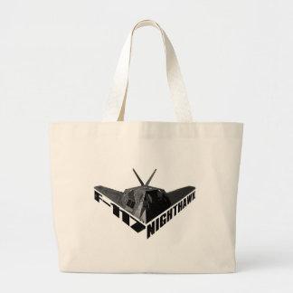Bolso de la lona del Nighthawk F-117 Bolsa Tela Grande