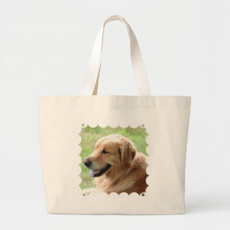 Bolso de la lona del perrito del golden retriever bolsa