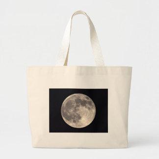 Bolso de la Luna Llena Bolsa Tela Grande