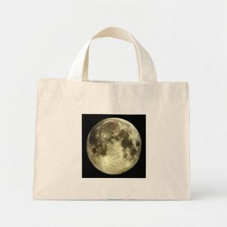 Bolso de la Luna Llena Bolsa Tela Pequeña
