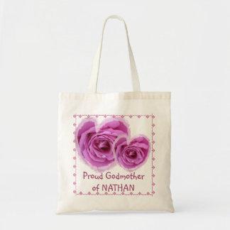 Bolso de la MADRINA - corazón color de rosa ROSADO Bolsas
