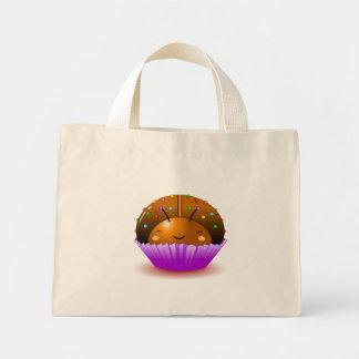 Bolso de la magdalena de la mariquita del chocolat bolsas