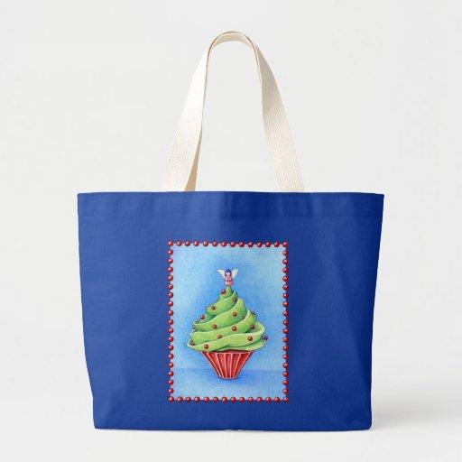 Bolso de la magdalena del árbol de navidad bolsas