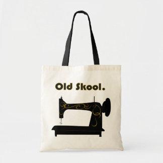 Bolso de la máquina de coser del vintage bolsa de mano