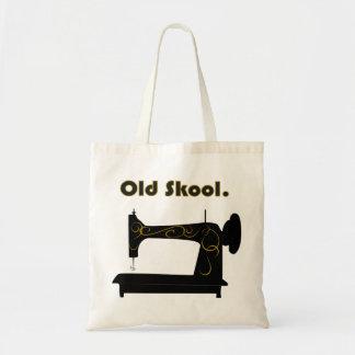 Bolso de la máquina de coser del vintage bolsa tela barata