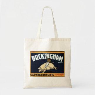 """""""Bolso de la marca de Buckingham"""" Bolsa De Mano"""