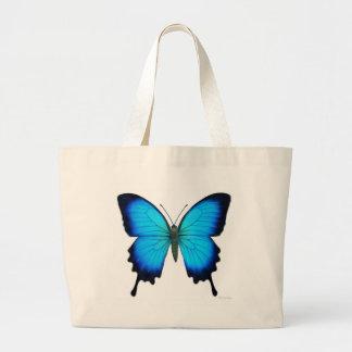 Bolso de la mariposa de Papilio Ulises Bolsa Tela Grande