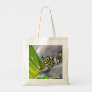 Bolso de la mariposa del papel de arroz de la ninf bolsas de mano