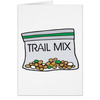 bolso de la mezcla del rastro tarjeta de felicitación