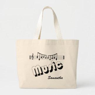 Bolso de la música bolsas