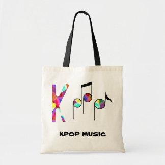 ¡Bolso de la música de KPOP! Bolsa Tela Barata