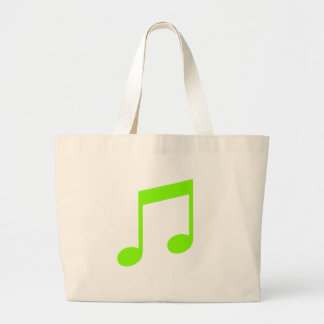 Bolso de la música de la verde lima bolsa de mano