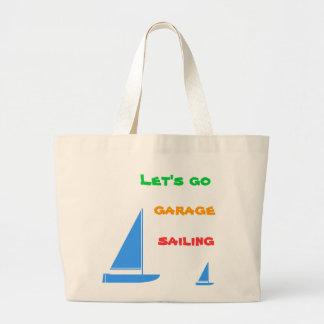 Bolso de la navegación del garaje bolsa de tela grande
