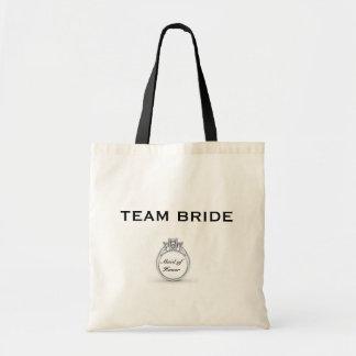 Bolso de la novia del equipo bolsa