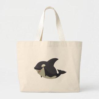 Bolso de la orca bolsa tela grande