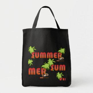 Bolso de la palma de coco del verano bolsa tela para la compra