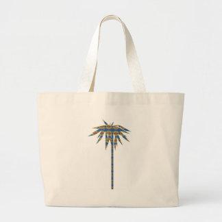 Bolso de la palma del arco iris bolsa