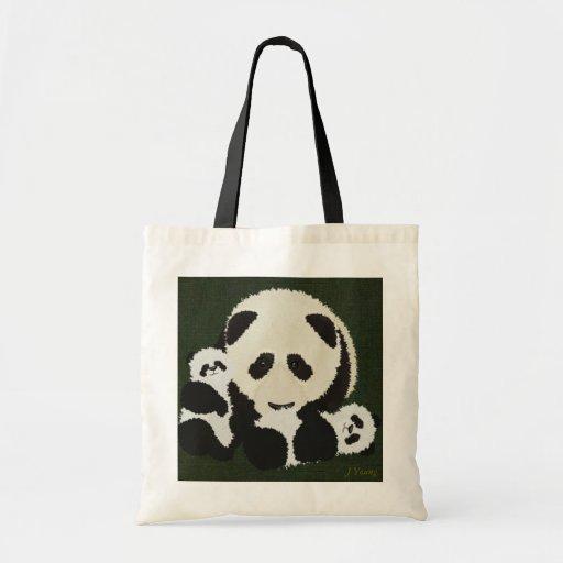Bolso de la panda por los jóvenes de J Bolsas