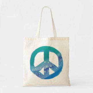 Bolso de la paz bolsa tela barata