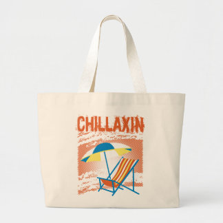 Bolso de la playa de Chillaxin Bolsa De Mano