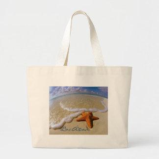 Bolso de la playa de L ocean Bolsas Lienzo