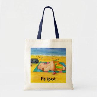 Bolso de la playa de la carne asada del cerdo bolsa