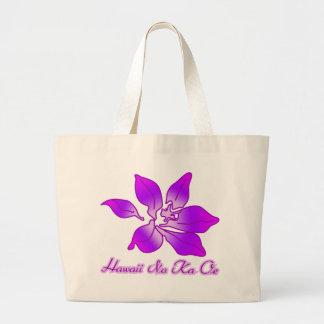 Bolso de la playa de la isla de la orquídea bolsa