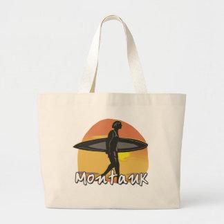 Bolso de la playa de la persona que practica surf  bolsa