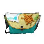bolso de la playa de la tortuga bolsa messenger