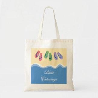 Bolso de la playa de los flips-flopes bolsa
