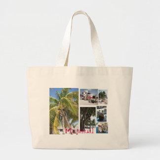 Bolso de la playa de Majahual Bolsa Tela Grande