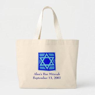 Bolso de la playa de Mitzvah de la barra (personal Bolsas De Mano