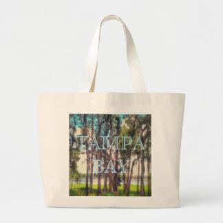 Bolso de la playa de Tampa Bay Bolsa Tela Grande
