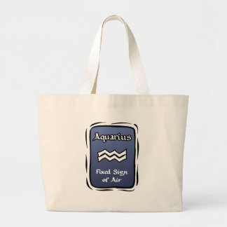 Bolso de la playa del acuario bolsa lienzo