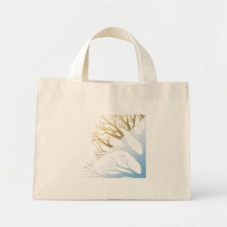 bolso de la playa del árbol del Dos-tono Bolsas