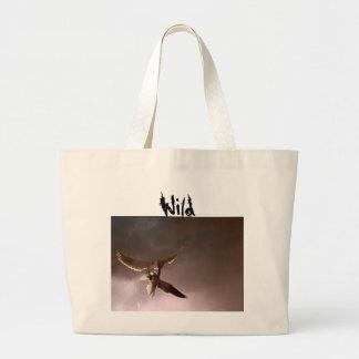 Bolso de la playa del halcón bolsas de mano