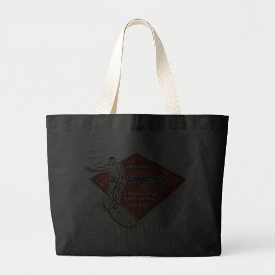 Bolso de la playa del logotipo del diamante del bolsa de tela grande