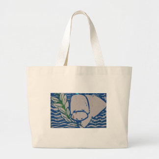 bolso de la playa del manatee bolsa tela grande