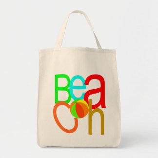 Bolso de la playa del verano bolsa tela para la compra