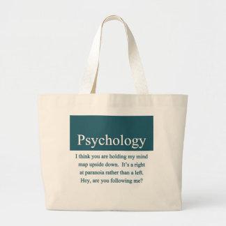 Bolso de la psicología bolsa tela grande