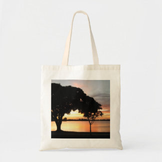 Bolso de la puesta del sol de Osborne del lago Bolsas Lienzo
