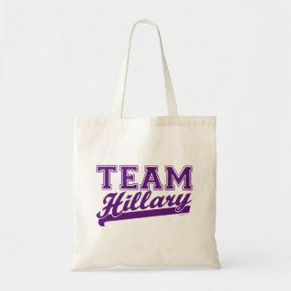 Bolso de la púrpura de Hillary del equipo Bolsa