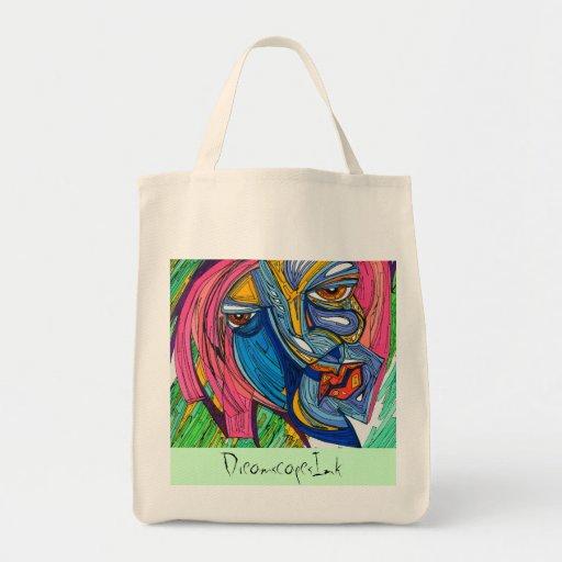 Bolso de la rabia de la calidad bolsas lienzo