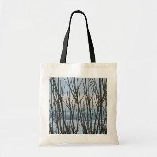 Bolso de la rama del invierno bolsa de mano
