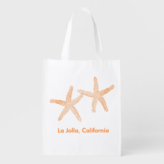 Bolso de la recepción del boda de playa (estrellas bolsa para la compra