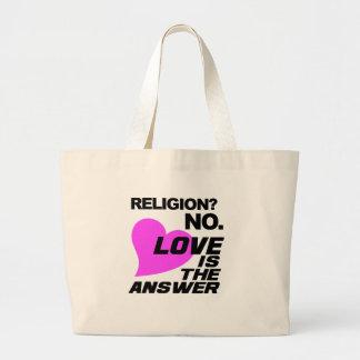 Bolso de la religión y del amor bolsa de mano
