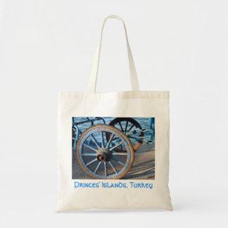 Bolso de la rueda del carro bolsa tela barata