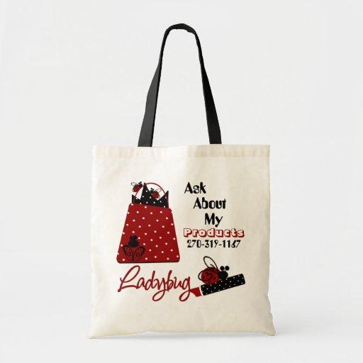 Bolso de la señora publicidad bolsa de mano