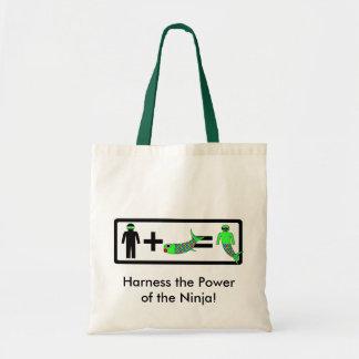 Bolso de la sirena de Ninja Bolsa Tela Barata