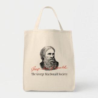 Bolso de la sociedad de George MacDonald Bolsas Lienzo